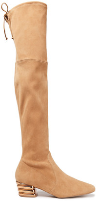 Stuart Weitzman Vidalia 45 Suede Over-the-knee Boots