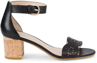 Kate Spade Wednesday Leather Heeled Sandals