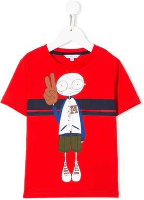 The Marc Jacobs Kids cartoon print T-shirt