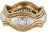 Ring 18K Two-Tone Diamond