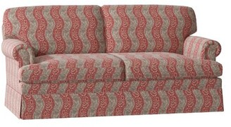 """Georgetown Rolled Arm Sofa Duralee Furniture Body Fabric: Gray, Size: 72"""" W"""