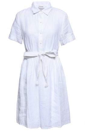 1250abc8618 White Linen Shirtdress - ShopStyle