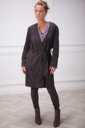 Riani Leather Coat - 12