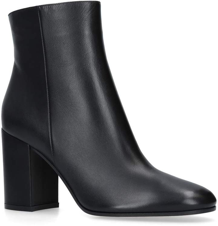 Gianvito Rossi Leather Rolling Boots 85