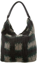 Burberry Multicolor Knitted Hobo