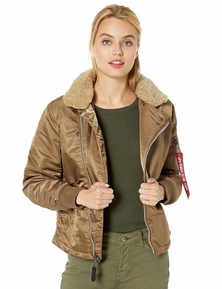 Alpha Industries Women's B-15 Straight Hem MOD W Utility Jacket