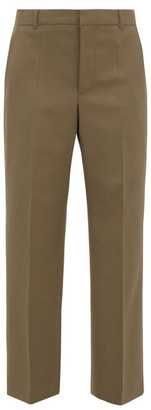 A.P.C. X Suzanne Koller Eva Twill Straight-leg Trousers - Womens - Brown