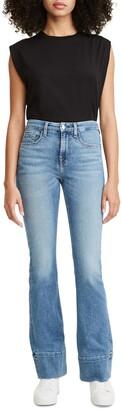 Jen7 Slim High Hem Boocut Jeans