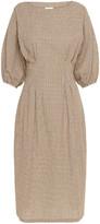 ST. AGNI Forme Cotton Knee-Length Dress