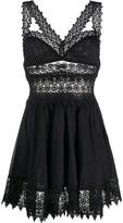Charo Ruiz Ibiza lace trim dress