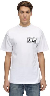 Aries Skate Cotton Jersey T-Shirt