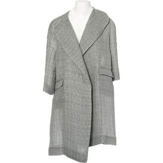 Mulberry Grey Synthetic Coats
