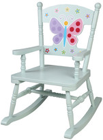 Levels of Discovery Olive Kids Butterfly Garden Rocking Chair