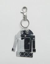 Asos Robot Keychain In Mirrored Finish