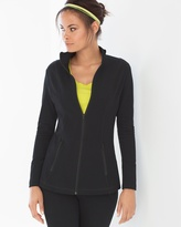 Soma Intimates Cotton Blend Yoga Jacket