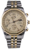 Tissot PR 100 C451 Two Tone Automatic Chronograph Moonphase 37mm Mens Watch