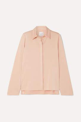 Galvan Crepe Shirt - Peach