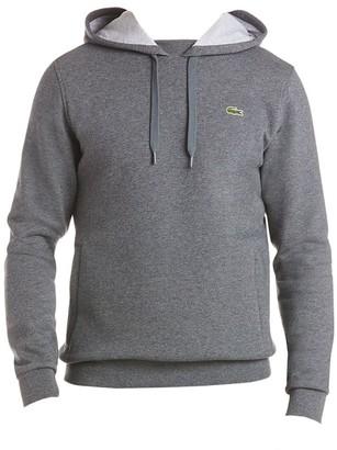 Lacoste Brushed Fleece Pullover Hoodie