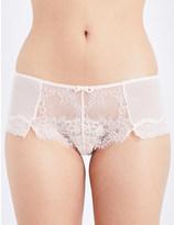 Passionata Blossom mesh and lace shorts