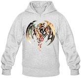 JPMEN Men's Imagine Dragons Symbol Logo Hoodie- XL