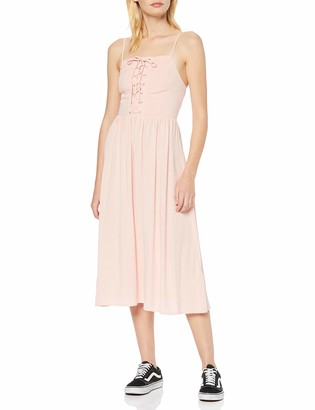 New Look Women's F Eyelet Lattice Midi Dress (6195465)