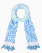 Charming charlie Ombre Tassel Scarf
