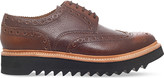 Grenson Archie leather wedge brogues