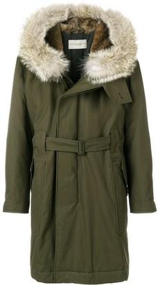 Holland & Holland Fur Hood Parka
