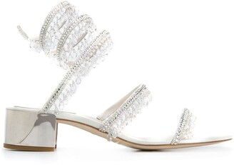 Rene Caovilla Cleo chandelier sandals