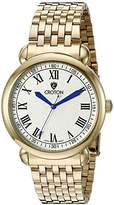 Croton Men's CN307532YLDW HERITAGE Analog Display Quartz Gold Watch