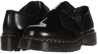 Dr. Martens 1461 Fenimore Bex Buckle (Black) Shoes