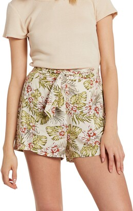 Volcom Sorry Babe Belted Shorts