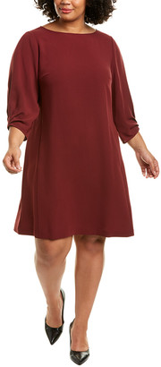 Lafayette 148 New York Plus Wynona Shift Dress