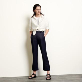 Sandro Straight-leg pants with pleats