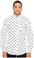 HUF Bob Long Sleeve Shirt Men's Clothing