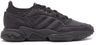 Adidas X Craig Green - Kontuur Ii Suede Trainers - Black