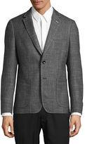 Sondergaard Slim-Fit Heathered Stretch Sports Jacket