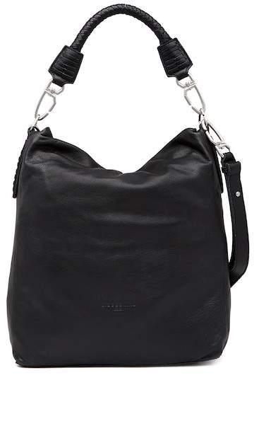 Liebeskind Berlin Basket Weave Detailed Leather Hobo Bag