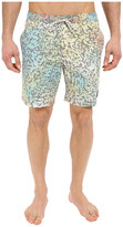 Quiksilver Ghetto Mix Volley Boardshorts 18""