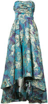 Marchesa floral brocade gown - women - Acetate - 0