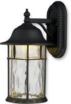 ELK Lighting Lapuente Large 1-Light Outdoor LED Sconce in Matte Black