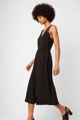 French Connection Angie Lace Belted Jumpsuit