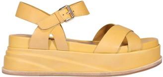 Elvio Zanon Platform Sandals