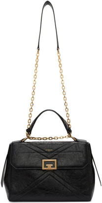 Givenchy Black Medium Crinkled ID Bag
