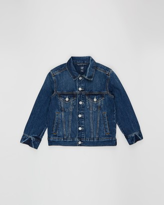 Gapkids Rigid Denim Jacket - Teens