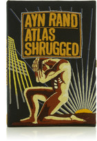 Olympia Le-Tan Olympia Le Tan Atlas Shrugged Book Clutch