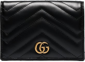 Gucci GG Marmont quilted passport wallet