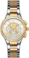 JBW Womens Two Tone Diamond Accent Bracelet Watchj6328d