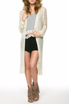 POL Open Knit Cardigan