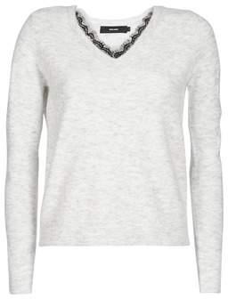 Vero Moda VMIVA women's Sweater in Grey